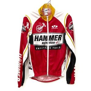 VINTAGE Racing Jacket Lightweight Red Beach